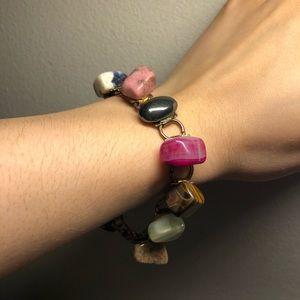 Jewelry - Assorted stones bracelet ✨